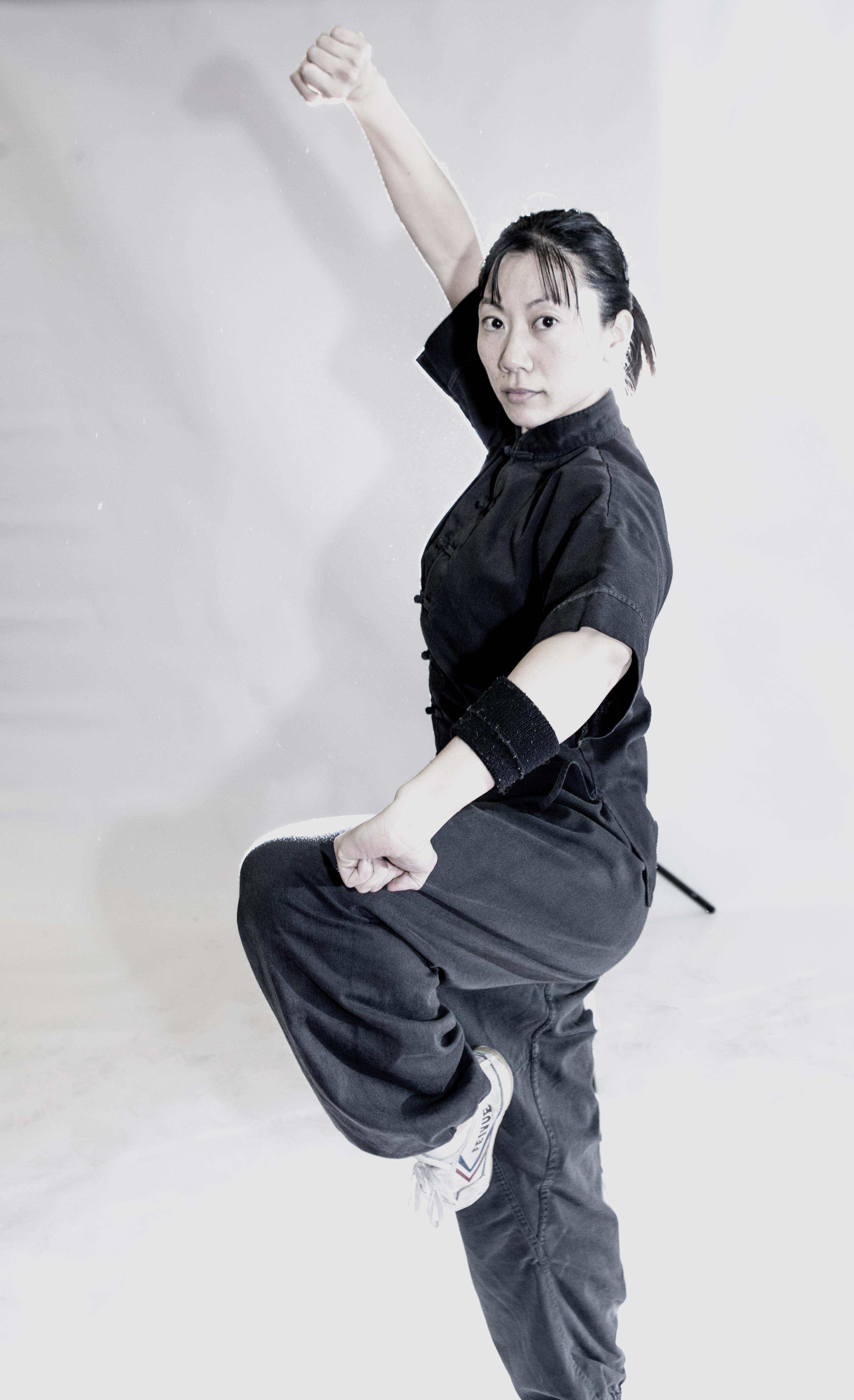 Jap girl stance mono Las vegas lohan School of Shaolin Kung Fu