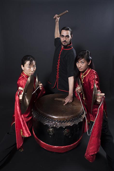 Musicians Lohan Lion Dancers Las Vegas