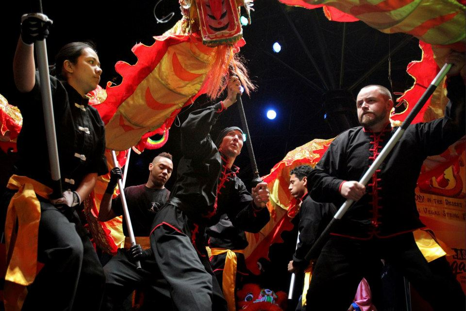 Festive Dragon Kung Fu Style