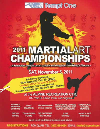 Tempt One Martial Art Championships
